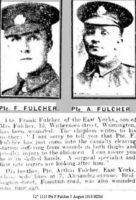 12th 1113 Pte F Fulcher 3 August 1916 HDM.JPG