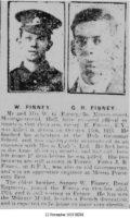 40035 Pte GR Finney 12 November 1918 HDM.JPG